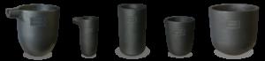 Купить керамические и графитовые тигли Mammut-Wetro для плавки цветных металлов